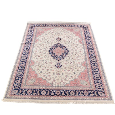 10'0 x 14'0 Hand-Knotted Indo-Persian Tabriz Wool Rug