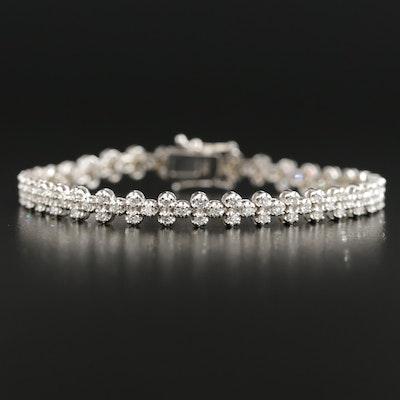14K Gold 2.24 CTW Diamond Bracelet