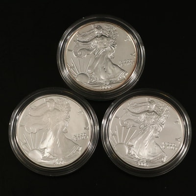 2006 U.S. Mint American Eagle 20th Anniversary Silver Coin Set