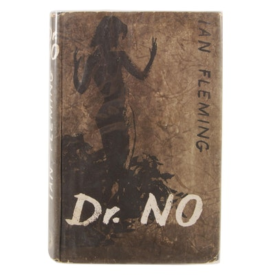 """First Edition """"Dr. No"""" by Ian Fleming with Dust Jacket"""