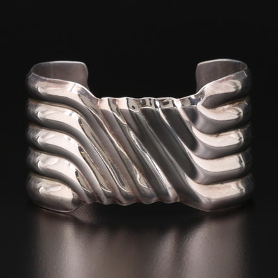 Taxco Sterling Silver Cuff