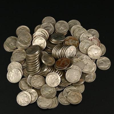 135 Full-Date Buffalo Nickels