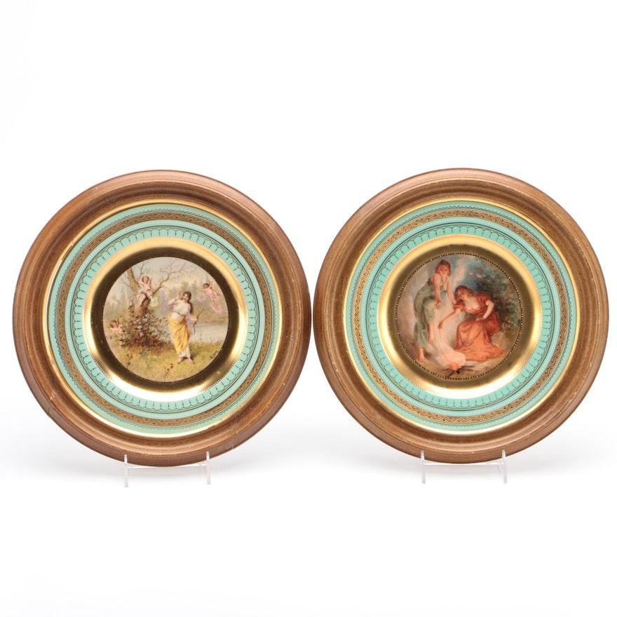 Royal Vienna Style Porcelain Plates