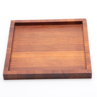 Gunnar Cyrew for Dansk Teak Serving Tray