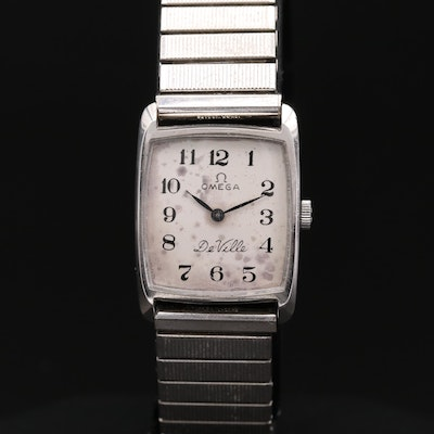 Omega DeVille Stainless Steel Wristwatch