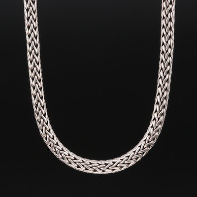 "John Hardy ""Classic Chain"" Sterling Necklace with 18K Accents"