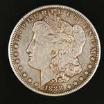 Key Date Low Mintage 1888-S Morgan Silver Dollar