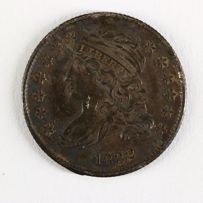 1832 Capped Bust Silver Dime