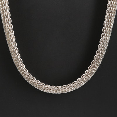 "Tiffany & Co. Sterling Silver ""Somerset"" Necklace"