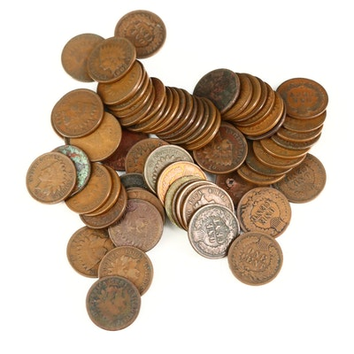 Sixty-Nine Indian Head Cents