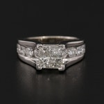 14K Yellow Gold 2.50 CTW Diamond Ring