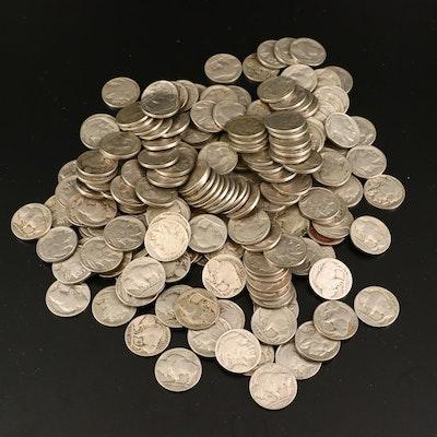 191 Buffalo Nickels