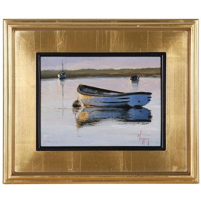 Marco Antonio Vazquez Oil Painting of Nautical Scene