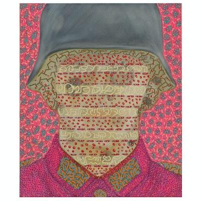 Raffaele D'Onofrio Abstract Mixed Media Painting