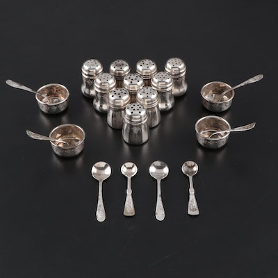 Weidlich Sterling Silver Salt and Pepper Shakers and More