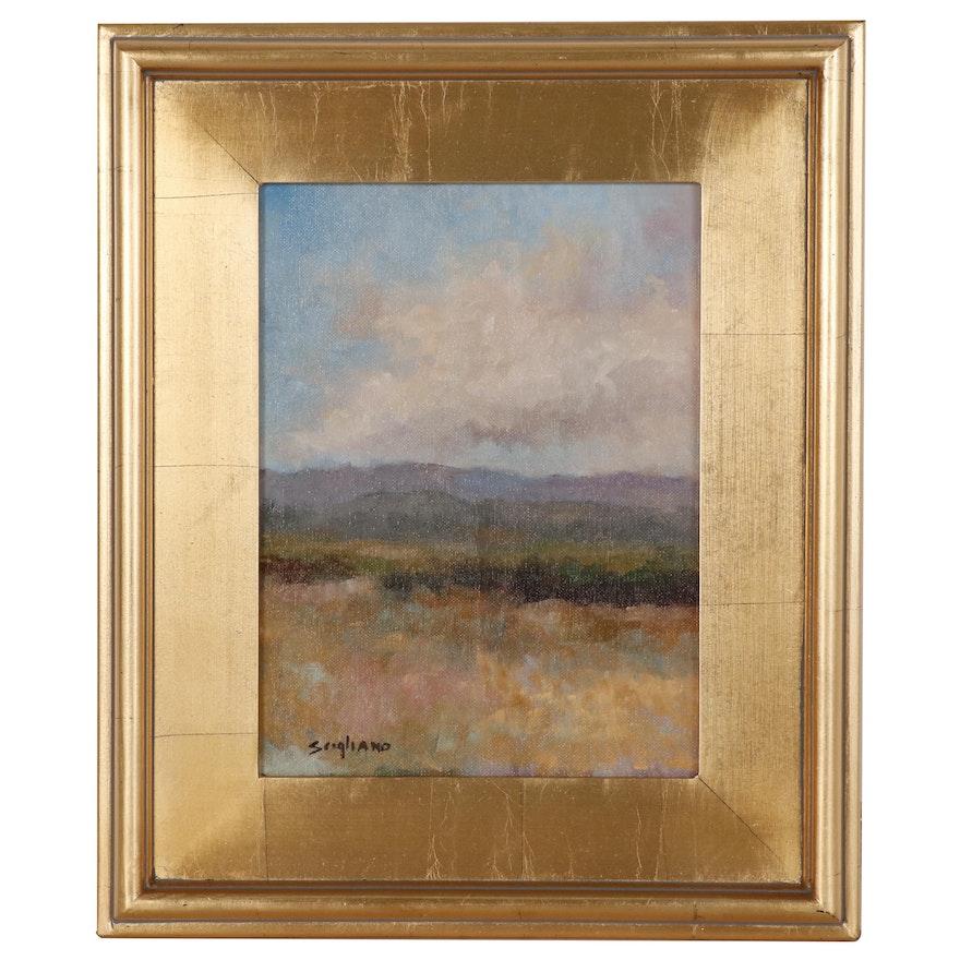 Miriam Scigliano Landscape Oil Painting