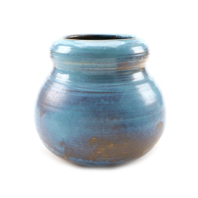 Shearwater Pottery Earthenware Wheel Thrown Vase