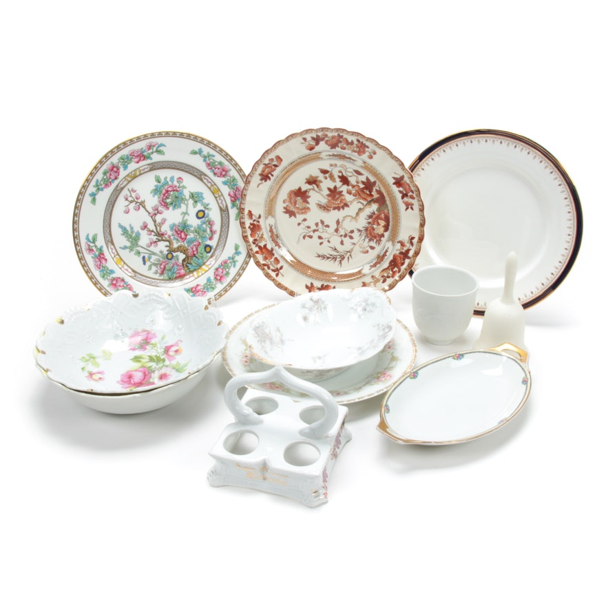 Lladró, Spode and Other Porcelain Dinner and Tableware