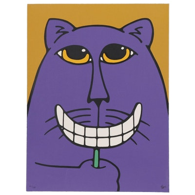 "Bruce McKay Serigraph ""Smile"""