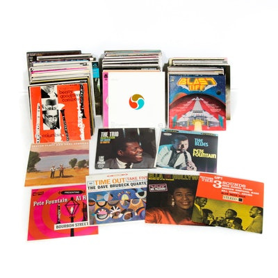 Simon & Garfunkel, Miles Davis, Chet Atkins and Other Vinyl Records