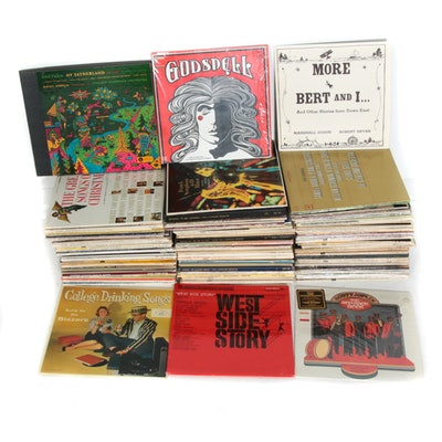 Jazz, Classical, Blues, and Musical Vinyl Records