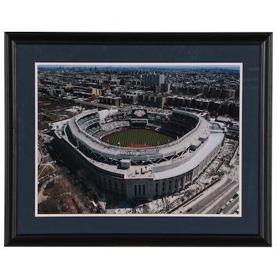 Offset Lithograph of Yankee Stadium