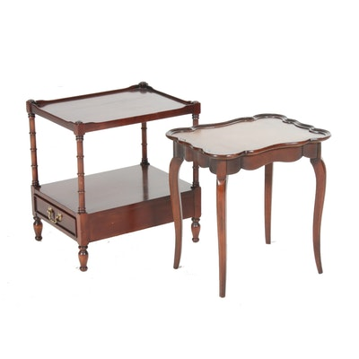 Wellington Hall and Schott Furniture Side Tables