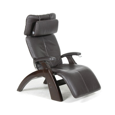 "Human Touch ""Perfect Chair"" Leather Recliner"