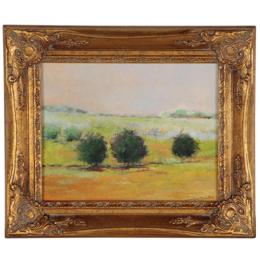 Vova DeBak Landscape Oil Painting