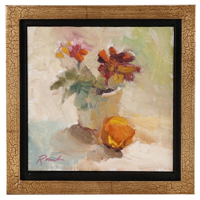 Sally Rosenbaum Still Life Oil Painting