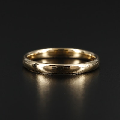 Benchmark 18K Yellow Gold Band