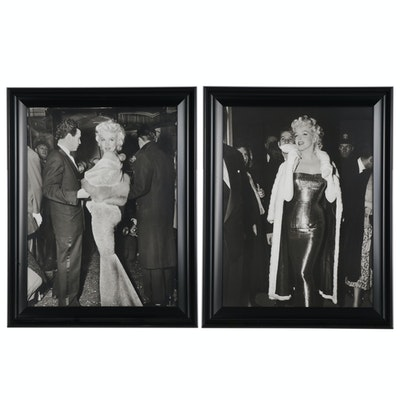 Offset Lithographs After Photographs of Marilyn Monroe
