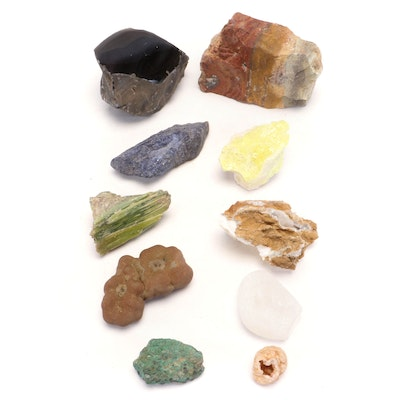 Collection of Mineral Specimens
