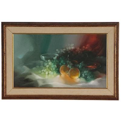 M. Charles Rhinehart Still Life Oil Painting