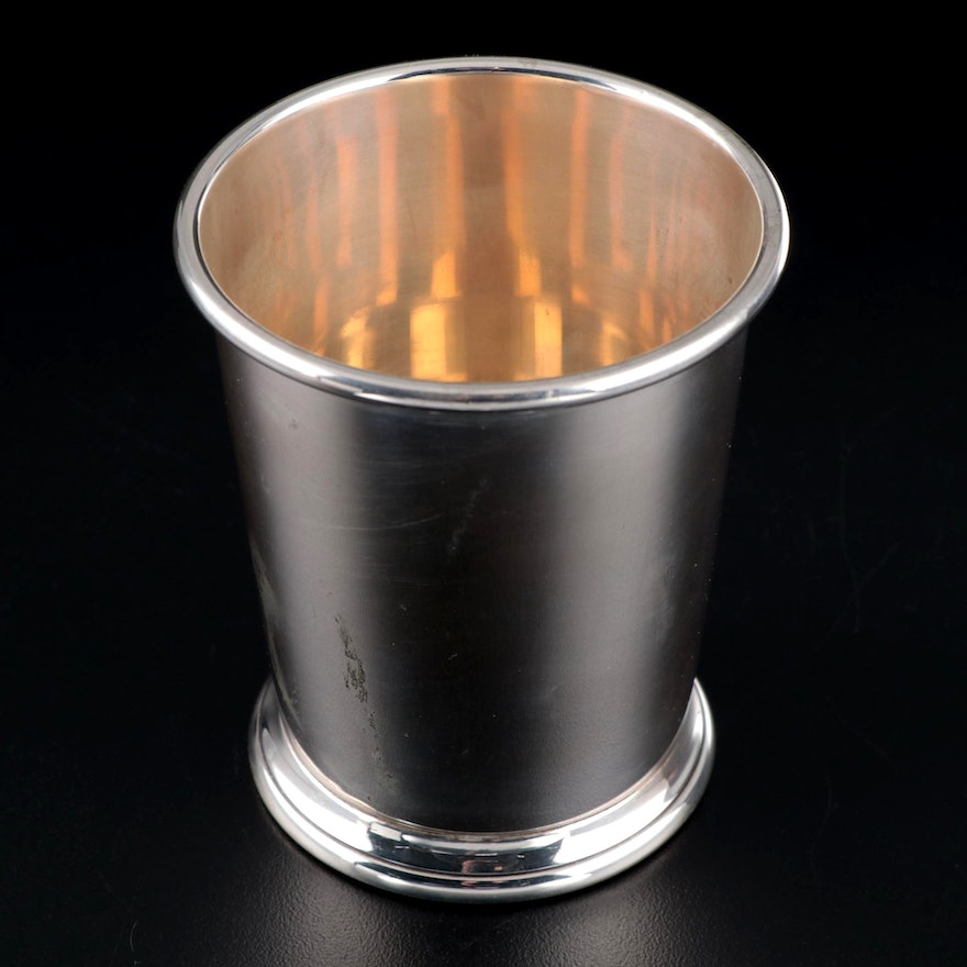 Baldwin & Miller Sterling Silver Mint Julep Cup, Early to Mid 20th Century