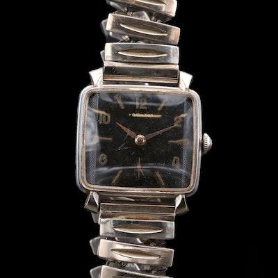 "Vintage Hamilton ""Sloane"" Stem Wind Wristwatch, 1959"