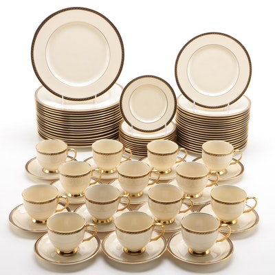 "Lenox ""Tyler"" Bone China Dinnerware Pieces, 1984-1999"