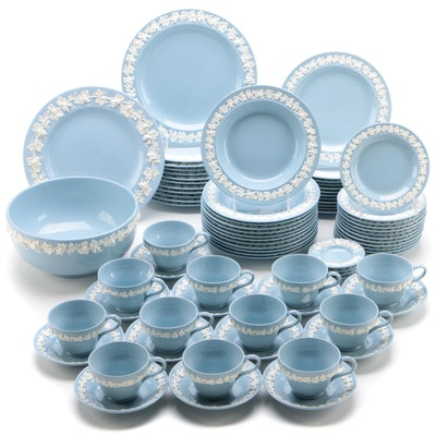 Wedgwood Etruria Queensware Relief Decorated Dinnerware