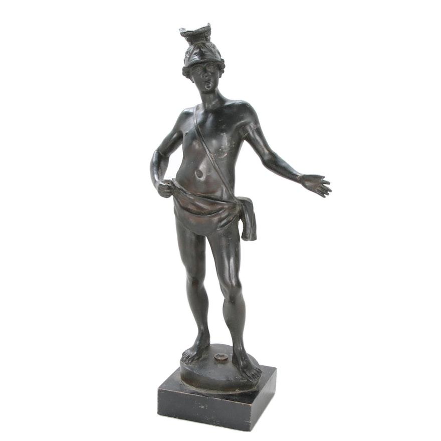 Bronze Sculpture of Greco-Roman Figure