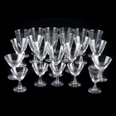 "Fostoria ""Pine"" Glass Stemware, 1953–1972"