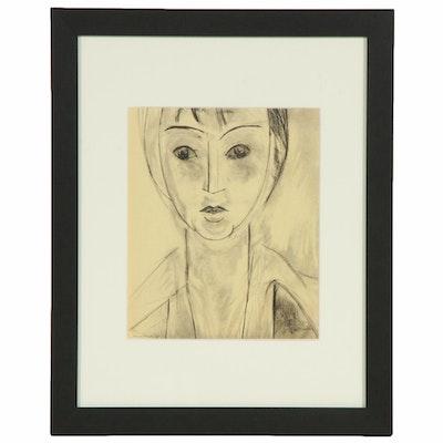 "Lithograph after Henri Matisse ""Madame Josette Gris"""