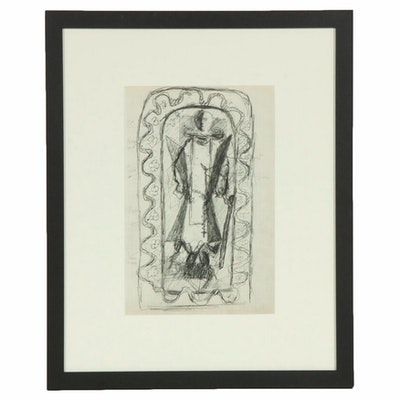 Georges Braque Lithograph for Verve No. VIII, 1955