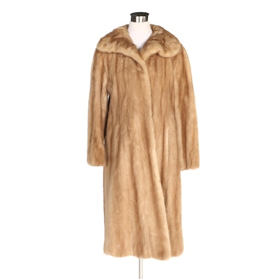 Mink Fur Coat from Kramer's in New Haven, Vintage