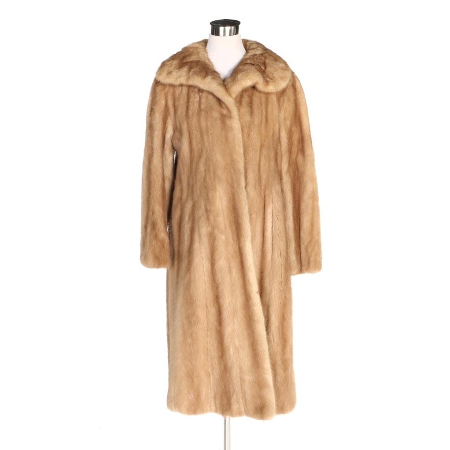 Mink Fur Coat from Kramer's in New Haven, Vintage