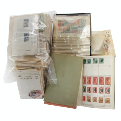 International Stamp Collection, Vintage and Antique
