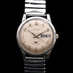 Bulova Stainless Steel Automatic Wristwatch with Day/Date, 1969