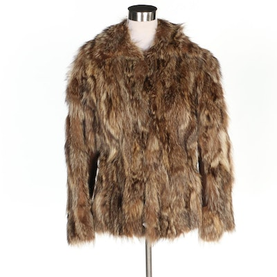 Coyote Fur Jacket, Vintage