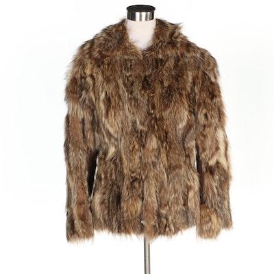 Coyote Fur Jacket, Vintage