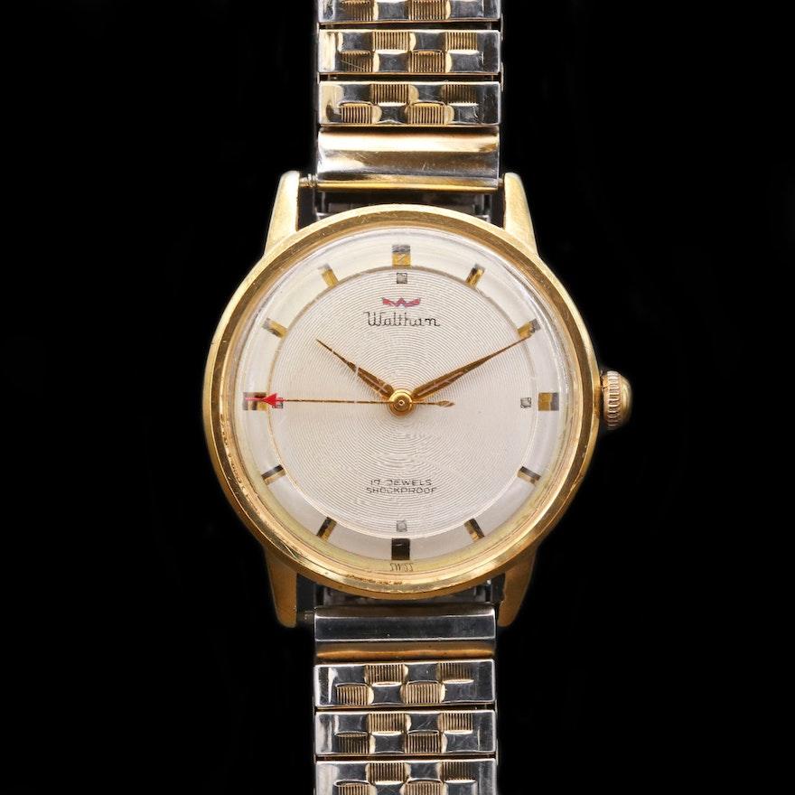 Vintage Waltham Stem Wind Wristwatch