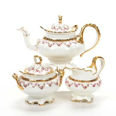 Cauldon for Tiffany & Co. Porcelain Tea Set